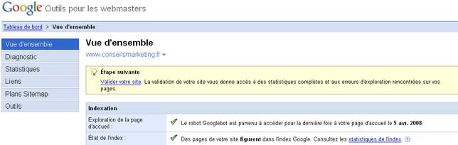 google sitemaps référencement