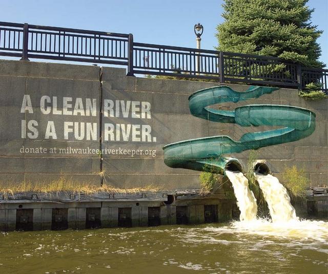 publicité rivière