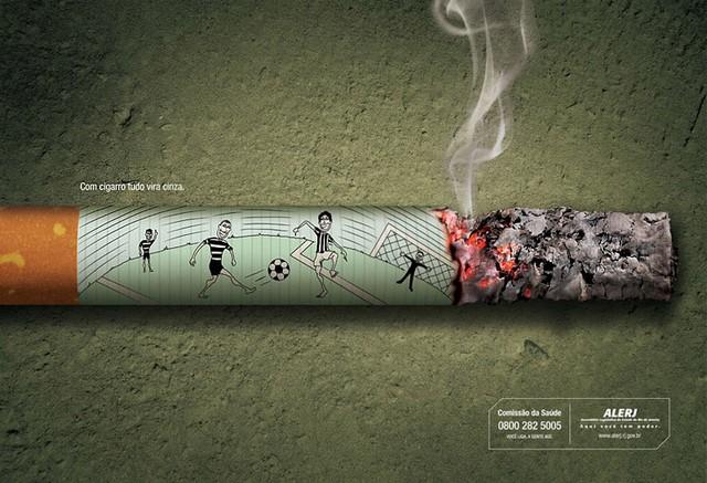 pub contre le tabac