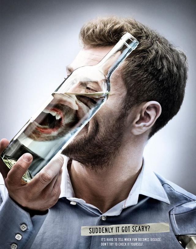 pub contre l'alcoolisme