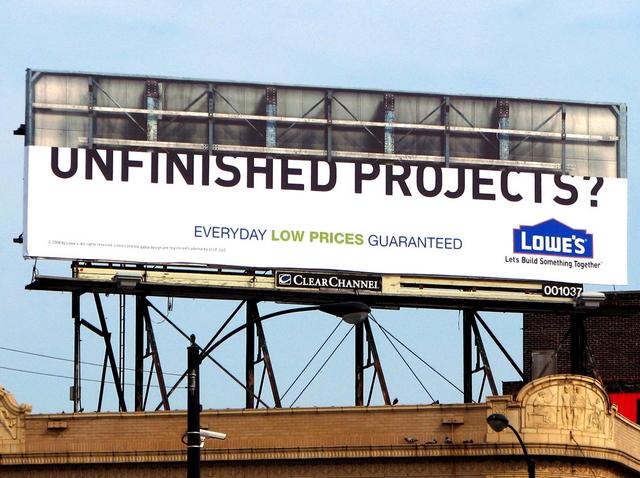 publicité entreprise de construction