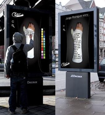 La pub du jour le panneau publicitaire interactif - Ne plus recevoir de coup de telephone publicitaire ...