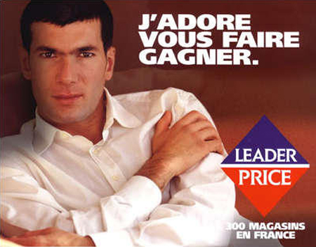 zidane leader price