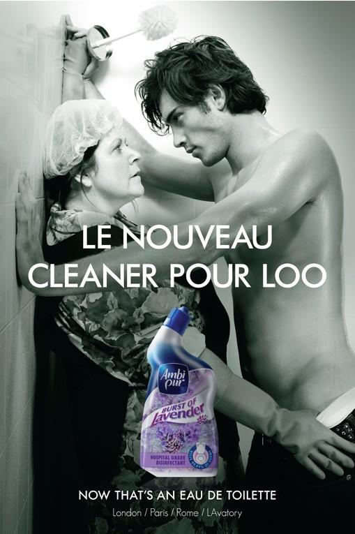 Bien connu La pub du jour : Une eau de toilette qui a un parfum de Chiottes  VM65