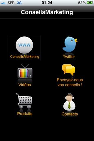 application marketing iphone