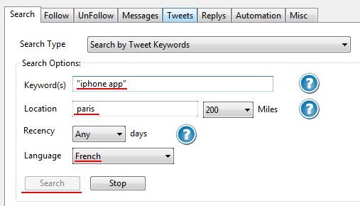 recherche mots cles Comment mettre Twitter sur Pilote Automatique ?