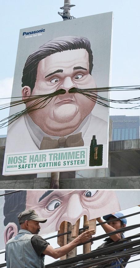publicité rasoir