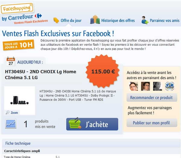 facebook carrefour