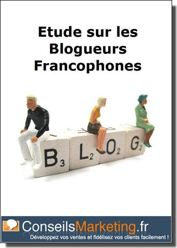 etude blogueurs francophones