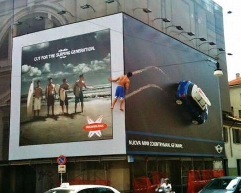 Les panneaux publicitaires