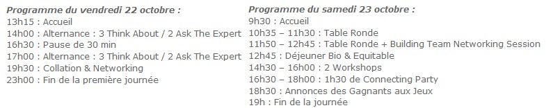 programme web2connect