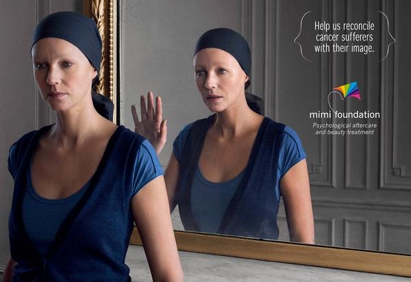 La pub du jour osez vous regarder dans le miroir for Maladie du miroir