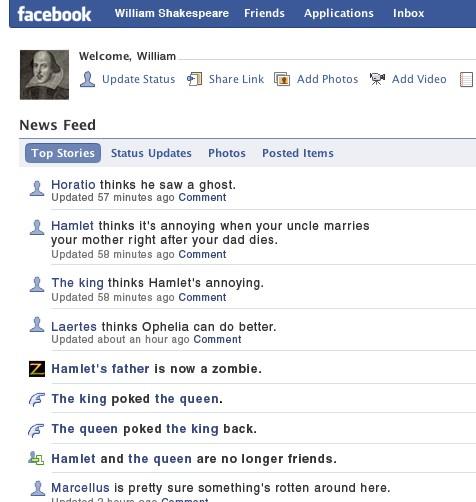 story telling facebook