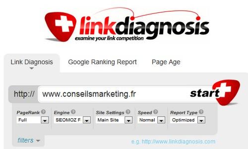 link diagnosis